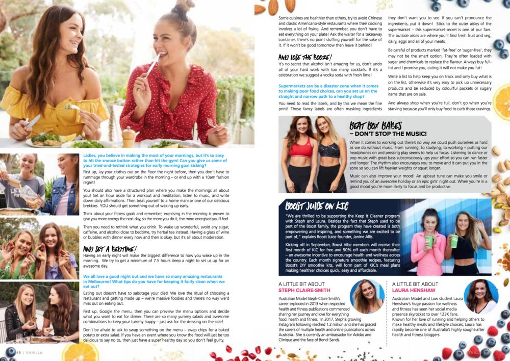 Full Article In Vanilla Magazine Issue 25