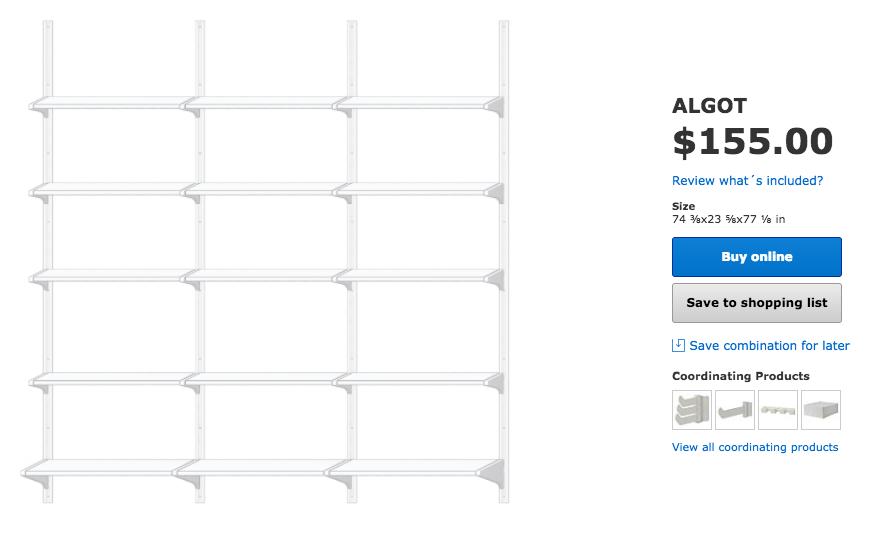 Ikea Algot Planner Part 3