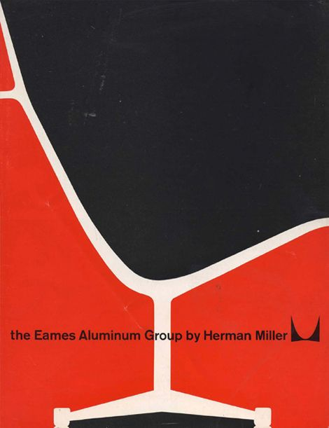 Herman Miller poster via  On Blue Pool Road