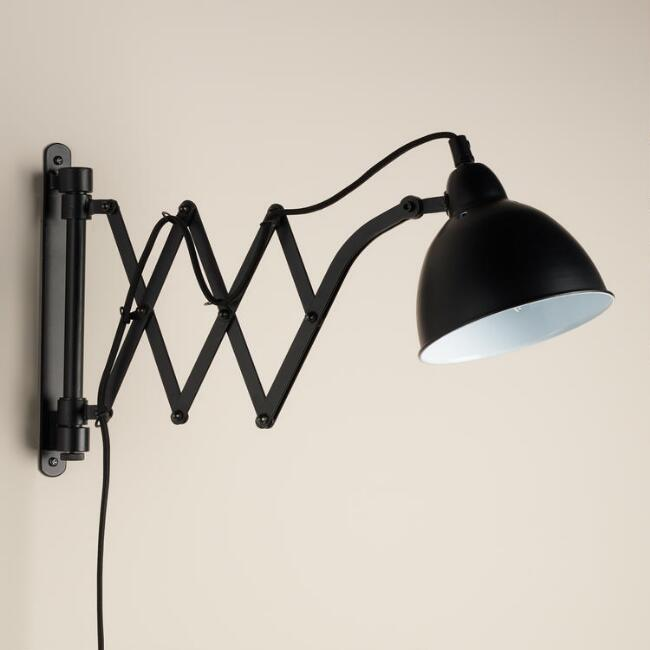 World Market Black metal accordian wall sconce.jpg