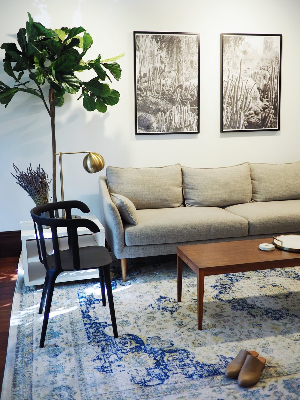 How To Buy And Frame Big Art For Less Than Eliza Kern Design - Coffee table less than $50