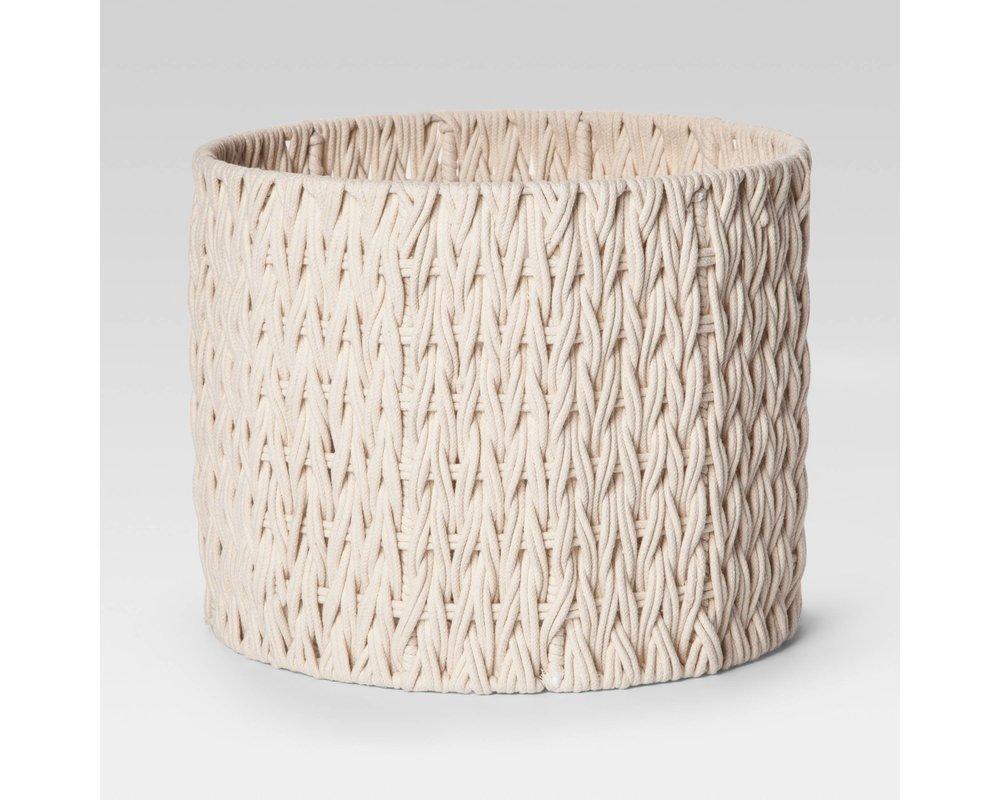 10. Target Round Woven Basket ($19)