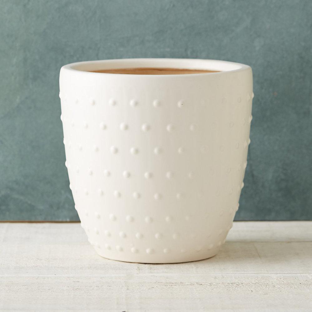 13. Terrain Hobnail Clay Pot ($48)
