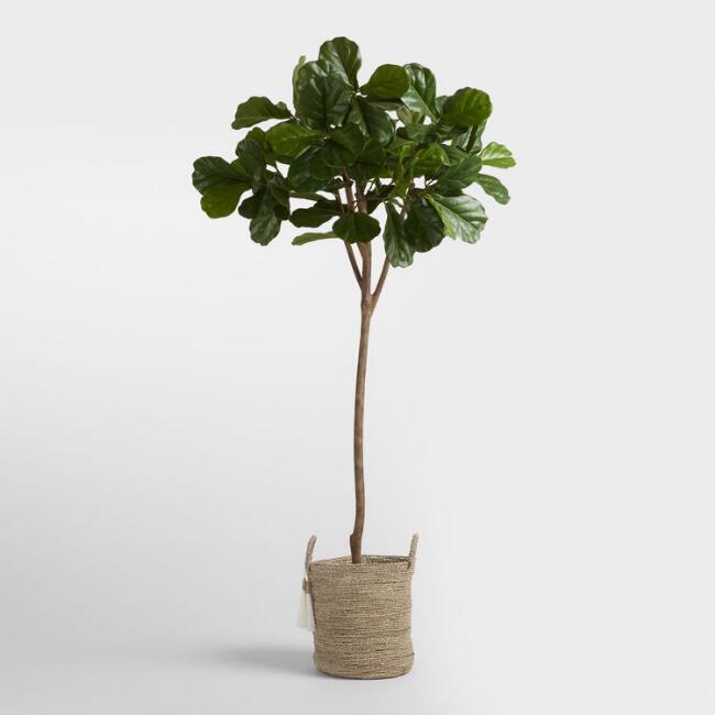 4. World Market Fiddle Leaf Tree ($179)