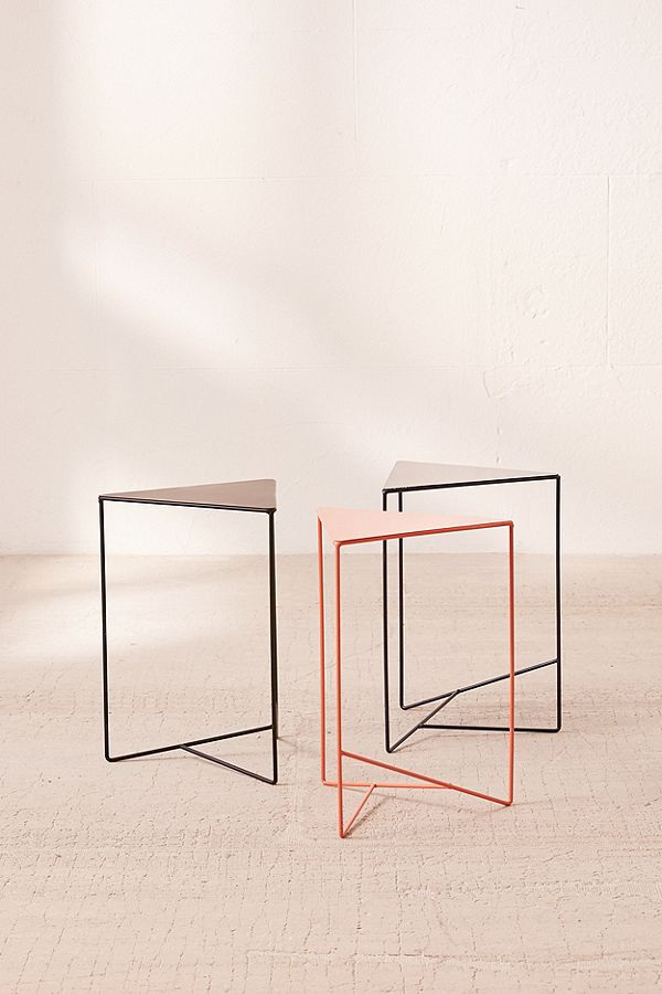 6. Triangle Side Table ($39)