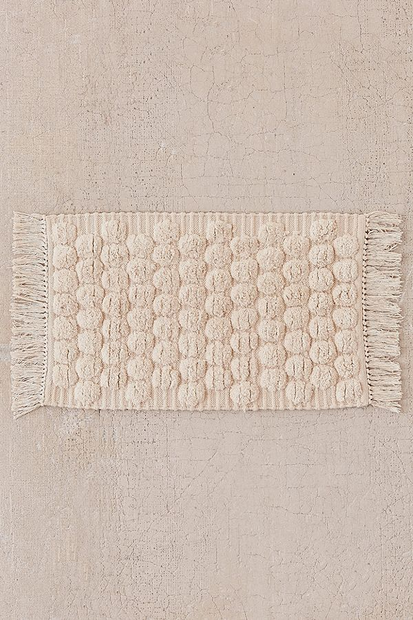 30. Tufted Dot Bath Mat ($49)