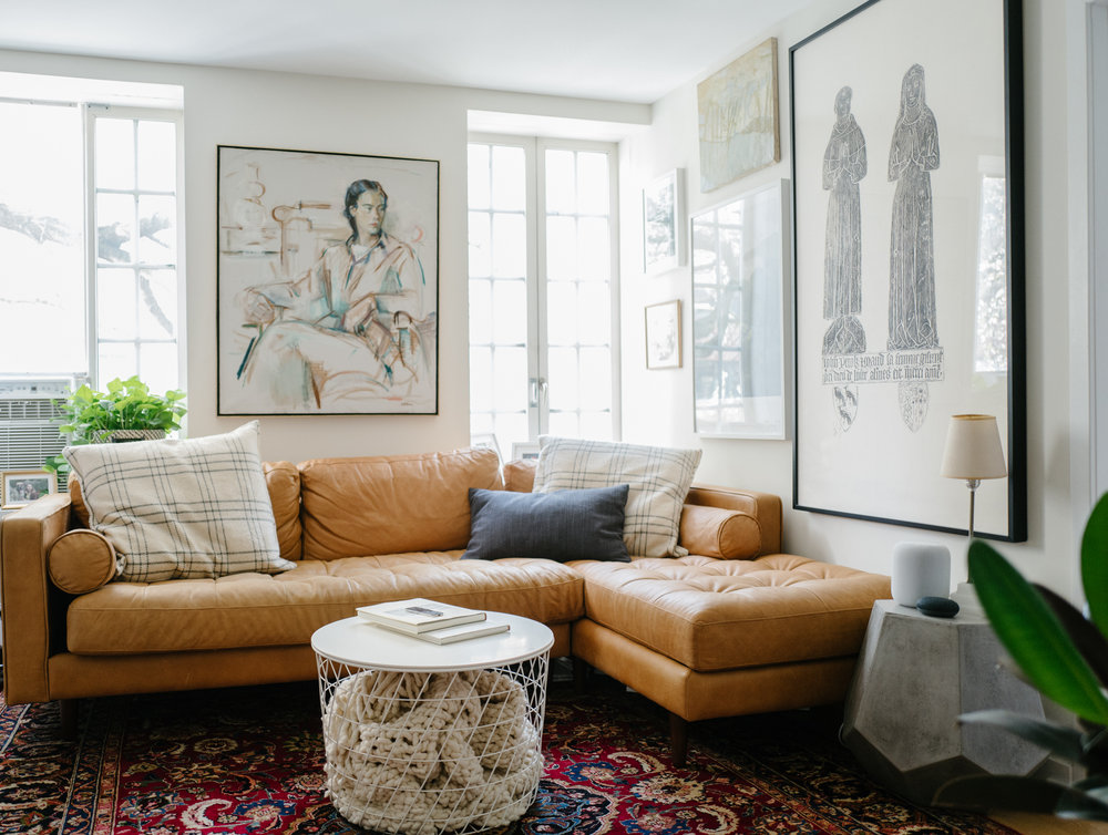 Before And After: Greenwich Village Apartment — Eliza Kern ...