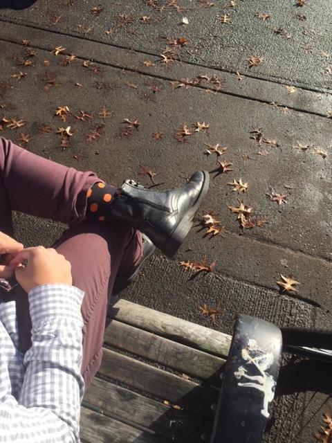 socks-and-i-on-bench.JPG