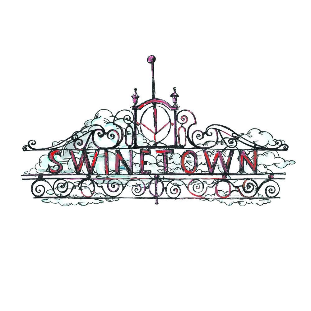 Swinetown Sign