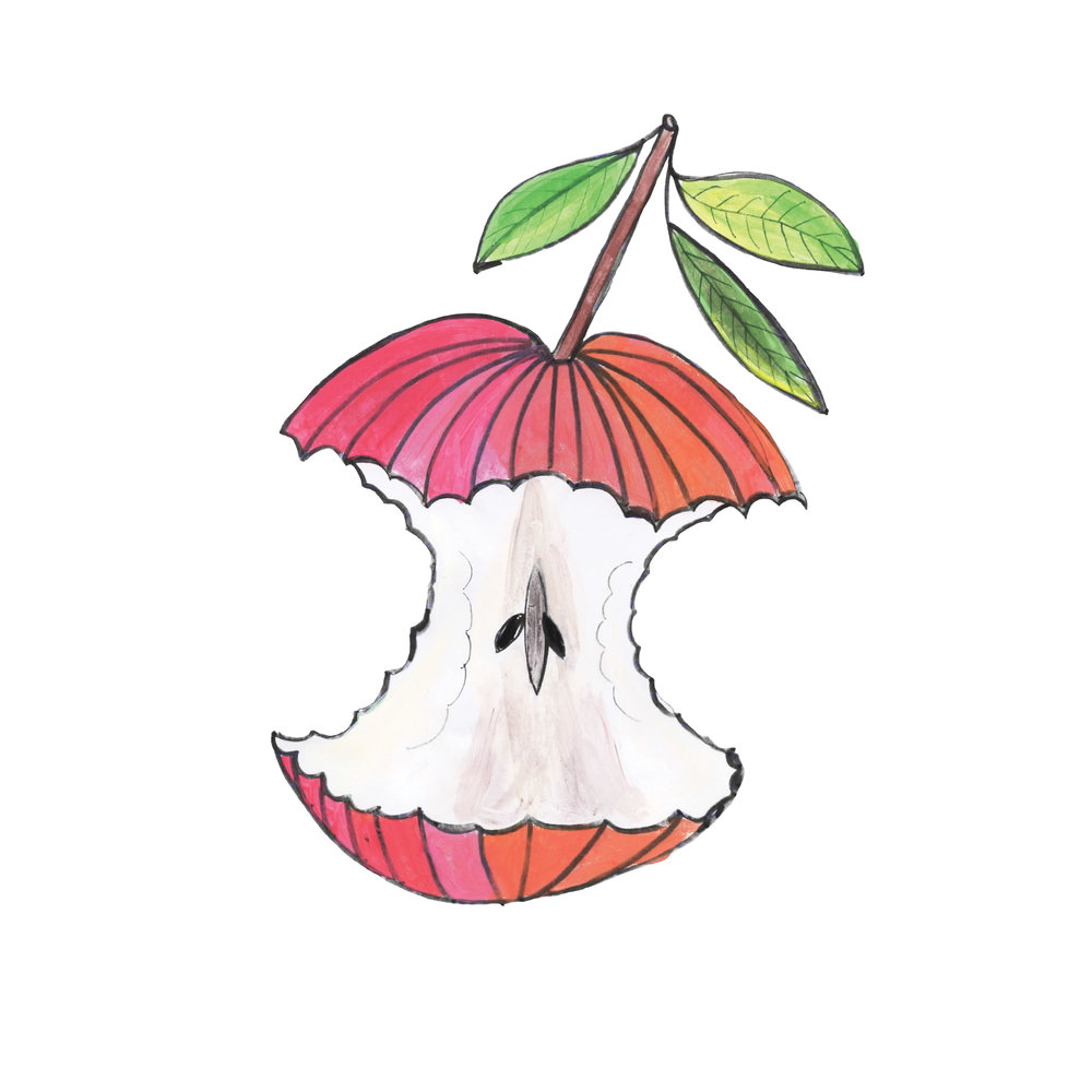 Eaten Apple