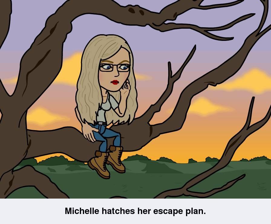 Michelle Cashman Escaping Humans