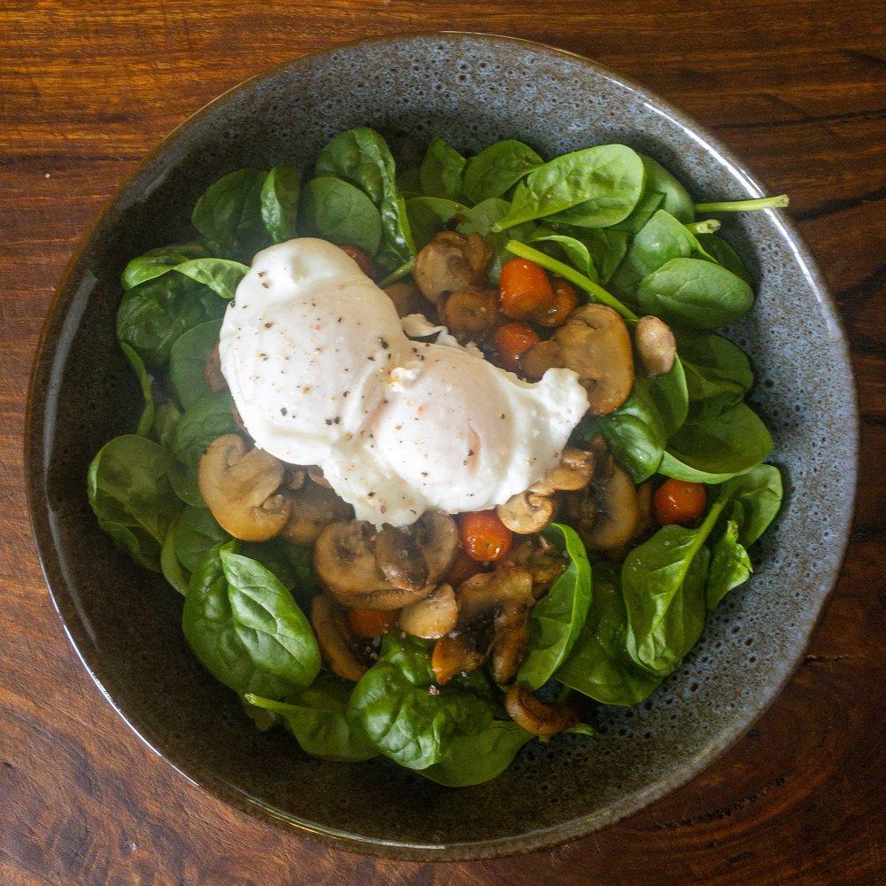 Michelle Cashman Veggie Breakfast