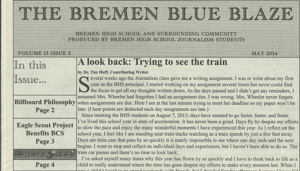 The Bremen Blue Blaze