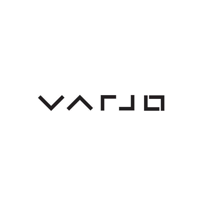Varjo logo Black on white JPG version PDF version