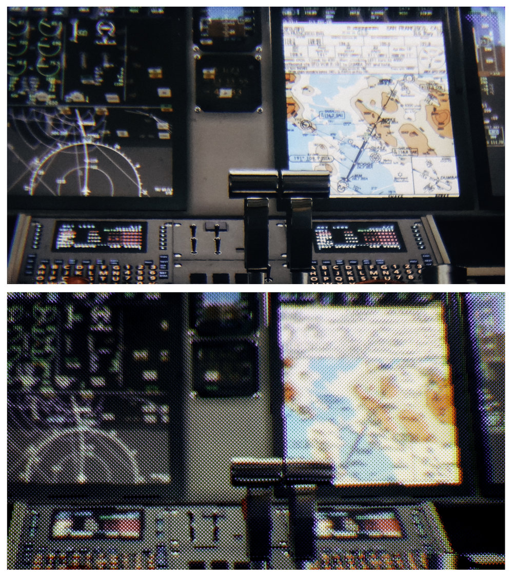 Cockpit scene