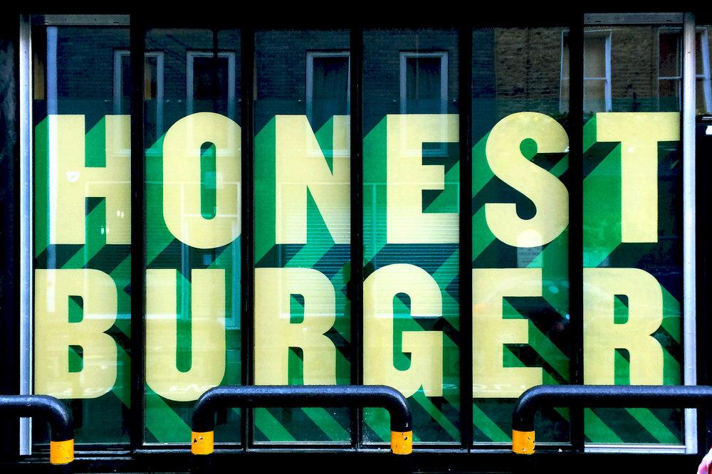 Honest Burgers Old Street