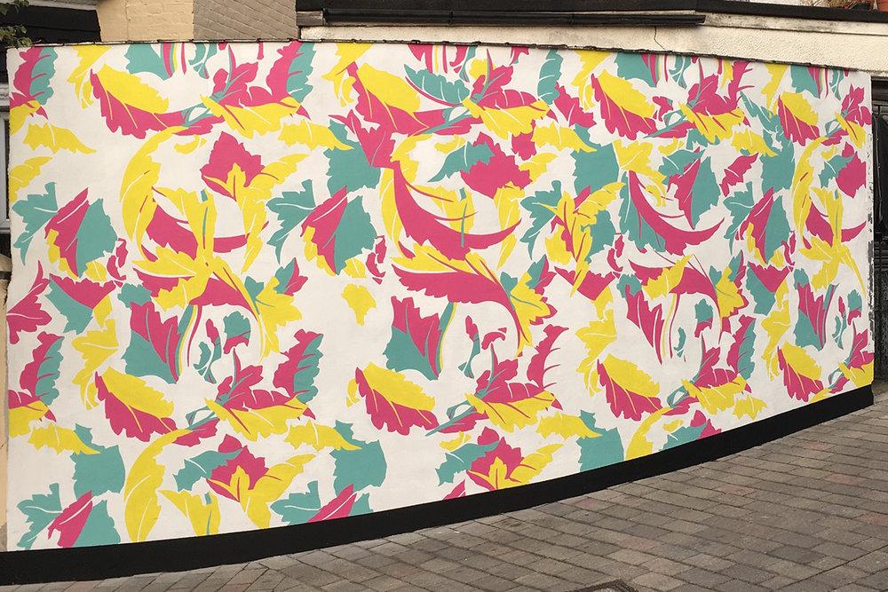 Ruby Road Mural