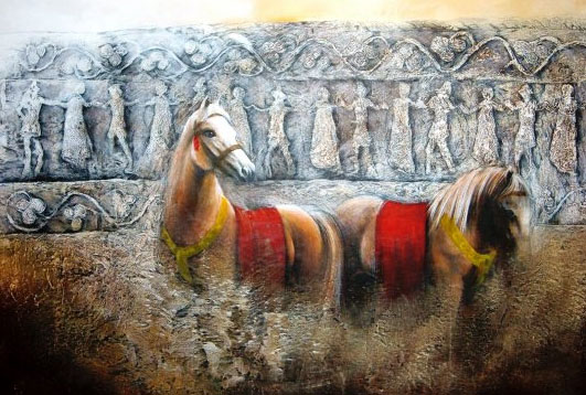 """3rd Place - """"The Brave Heart of an Artist"""" by Azra Beslagić"""