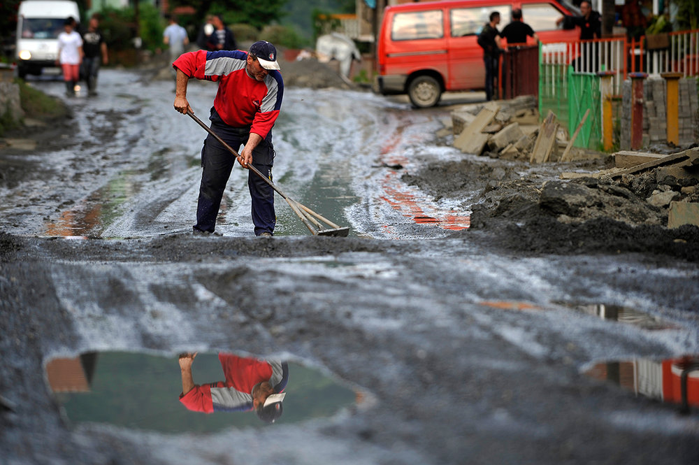 2014 Bosnian floods (photo: Midhat Poturovic)