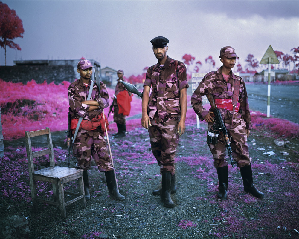 Suspicious Minds , 2012, digital c-print 48 x 60 inches (Photo: Richard Mosse)