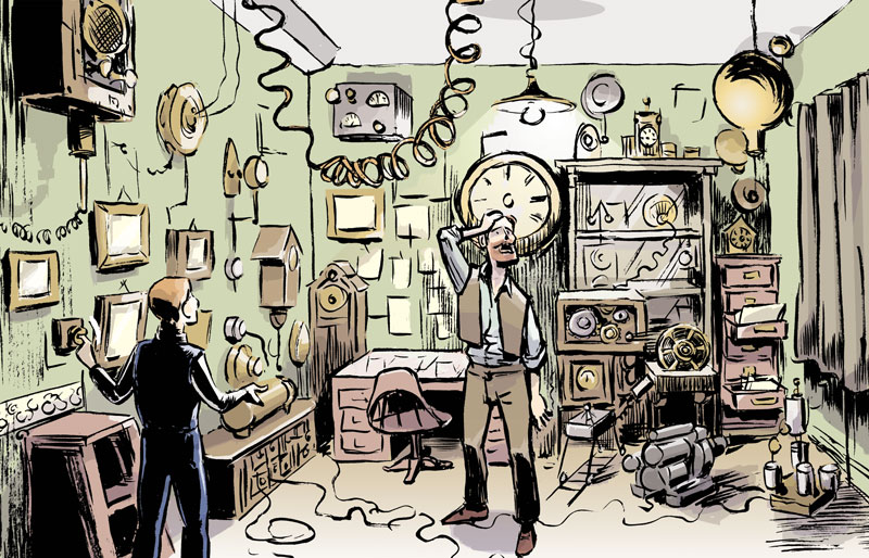 PANEL FROM 'BRIGHTON: THE GRAPHIC NOVEL' / GRAPHIC ANTHOLOGY / QUEENSPARK BOOKS