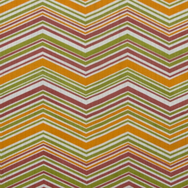 Chevron yellow pink