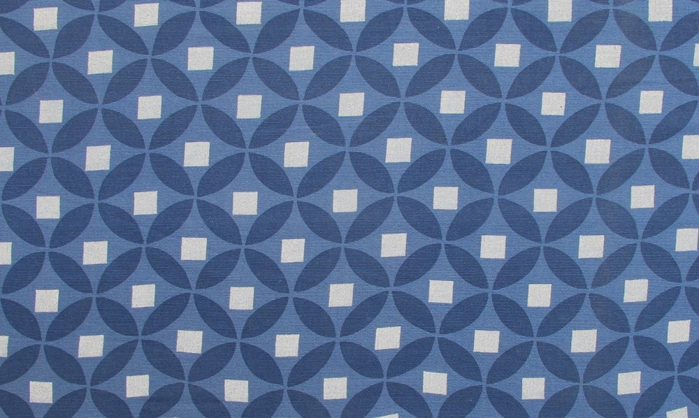 Morocco blue white