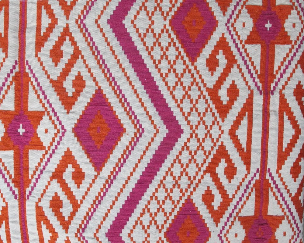 Tribal Aztek pink orange