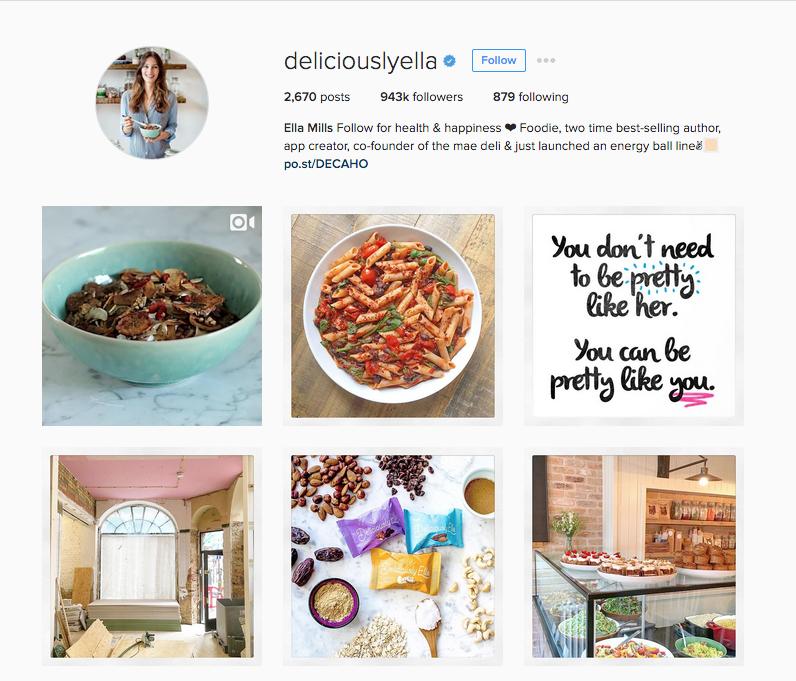 Instagram - @deliciouslyella