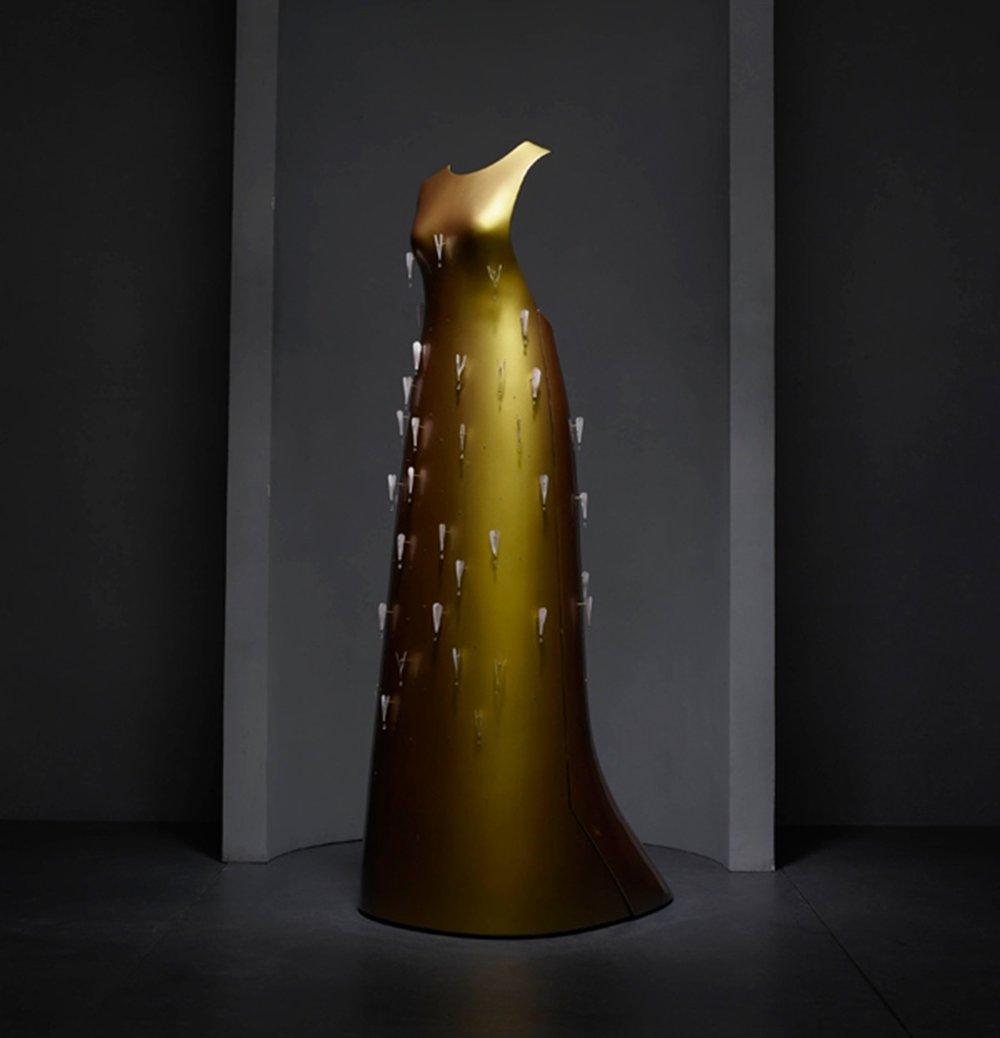 Hussein Chalayan -Kaikokufloating dress,A/W11-12. Photo credit:Nicholas Alan Cope
