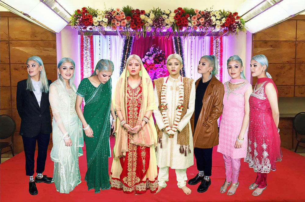 Seema Mattu - Seema Weds Seema (2016) [wedding photographs - digital images]