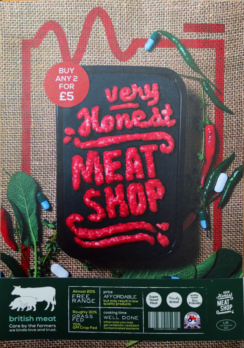 Chayanut Ratanachai -'Very Honest Meat Shop'