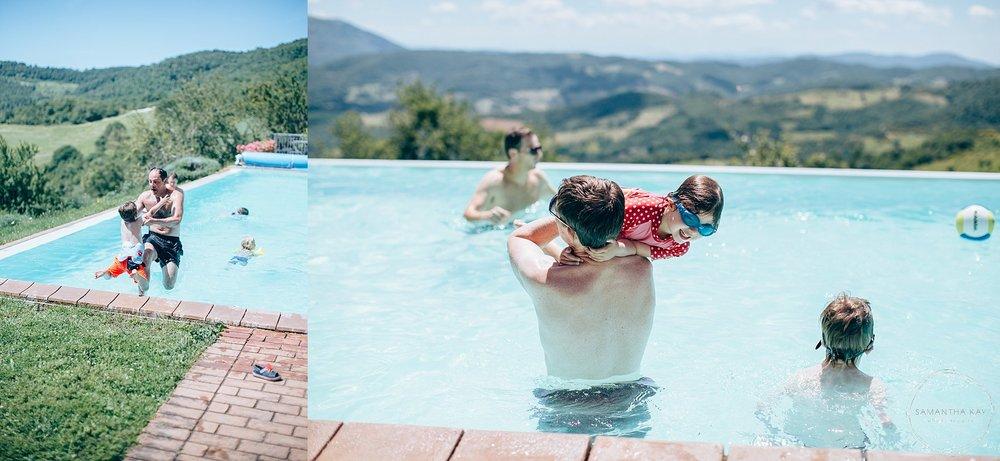 Casa Bruciata swimming pool