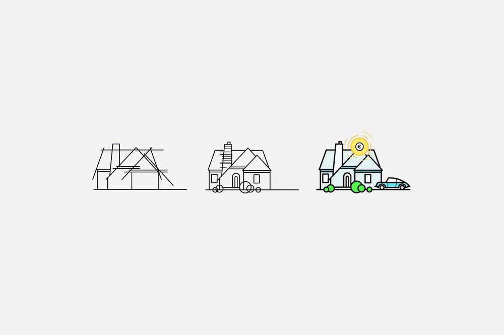 Illustrations   Proyecto freelance. Dirección de arte y diseño gráfico se unen en un mismo fin.