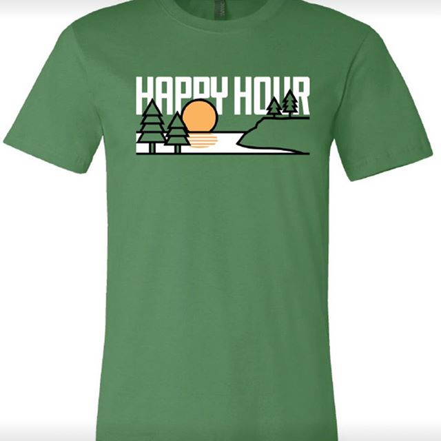 Our new #HappyHour shirts are available @tennesseecomforts and at www.tristaradventures.famerch.com  #graphicdesign #tshirts #camping #outdoors