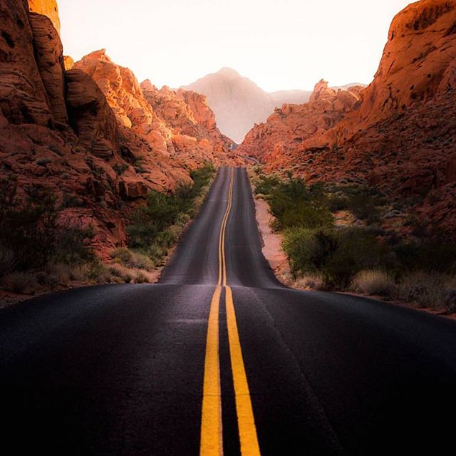 Who's ready for a road trip? 📷: Valley of Fire State Park by @tvardi  #postcardworthy #nevada #explore #wander #wanderlust