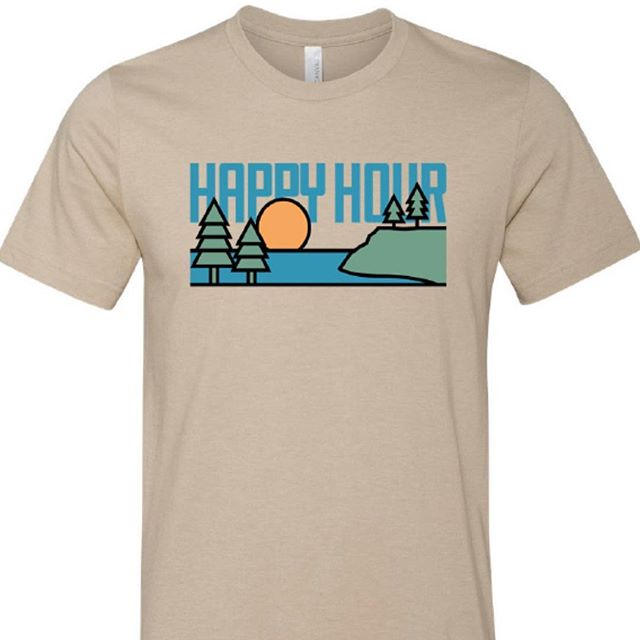 Our latest design created by @kalebbuckner from @always.abounding! We love how it turned out! Pick yours up at the link in our bio.  #postcardworthy #happyhour #outdoors #Savannah #Gatlinburg #Ashville #Nashville #Charleston #Charlotte #Chattanooga