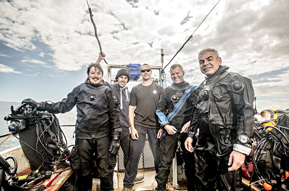 Business Portraits - National Wildlife Trust Dive Team