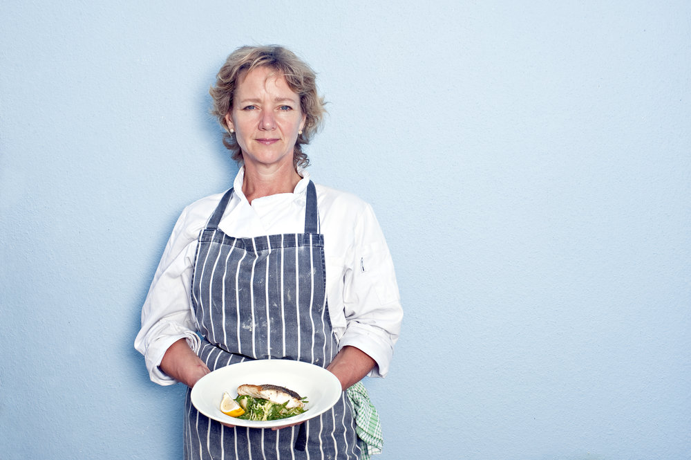 Business Portraits - Chef Sophie Dorber