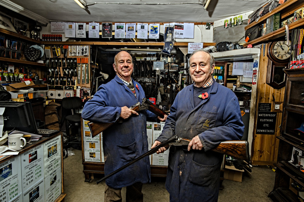 Business Portraits - A.Robinson and Sons - Gunsmiths