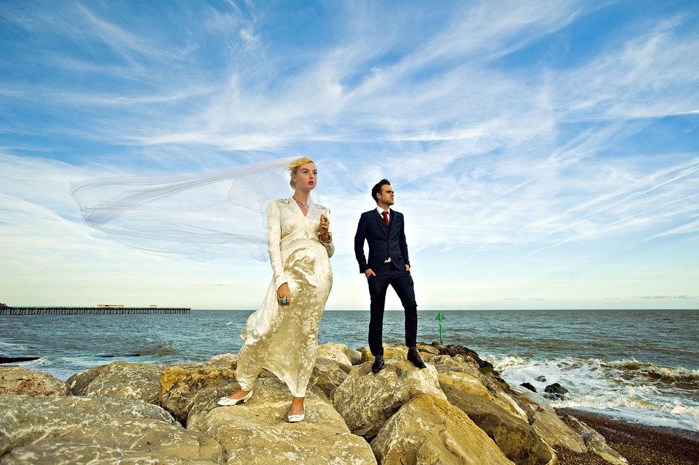 Studio Luxe Couples Portrait Shoots