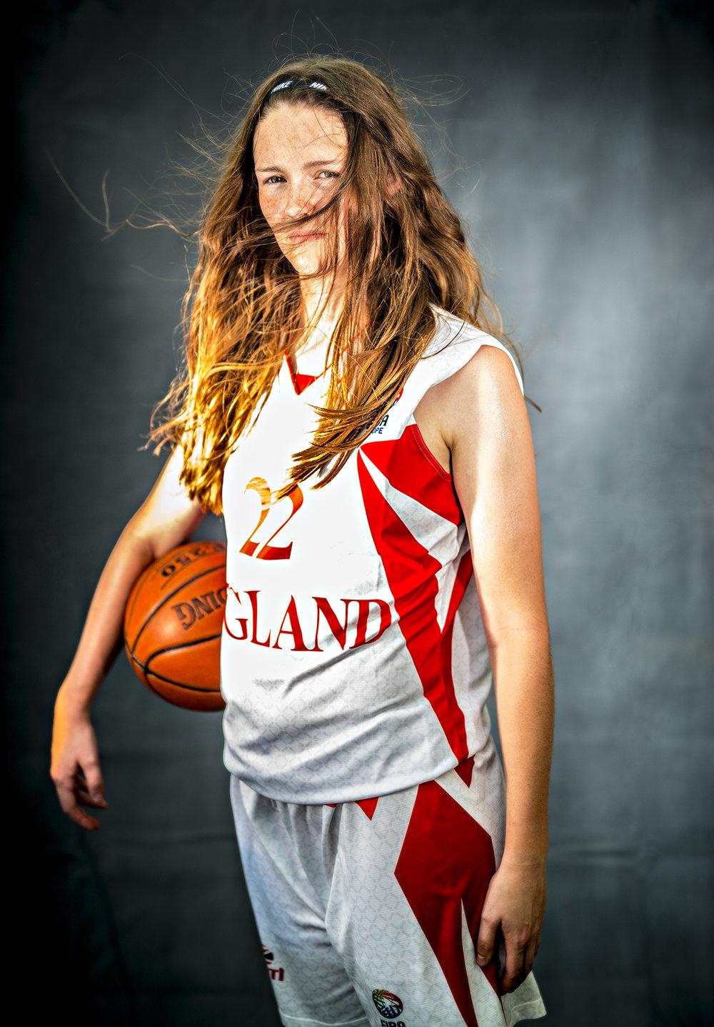 England U19's Basketball player from Woodbridge, Suffolk.