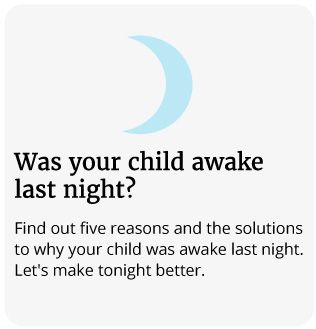 was your child awake last night?