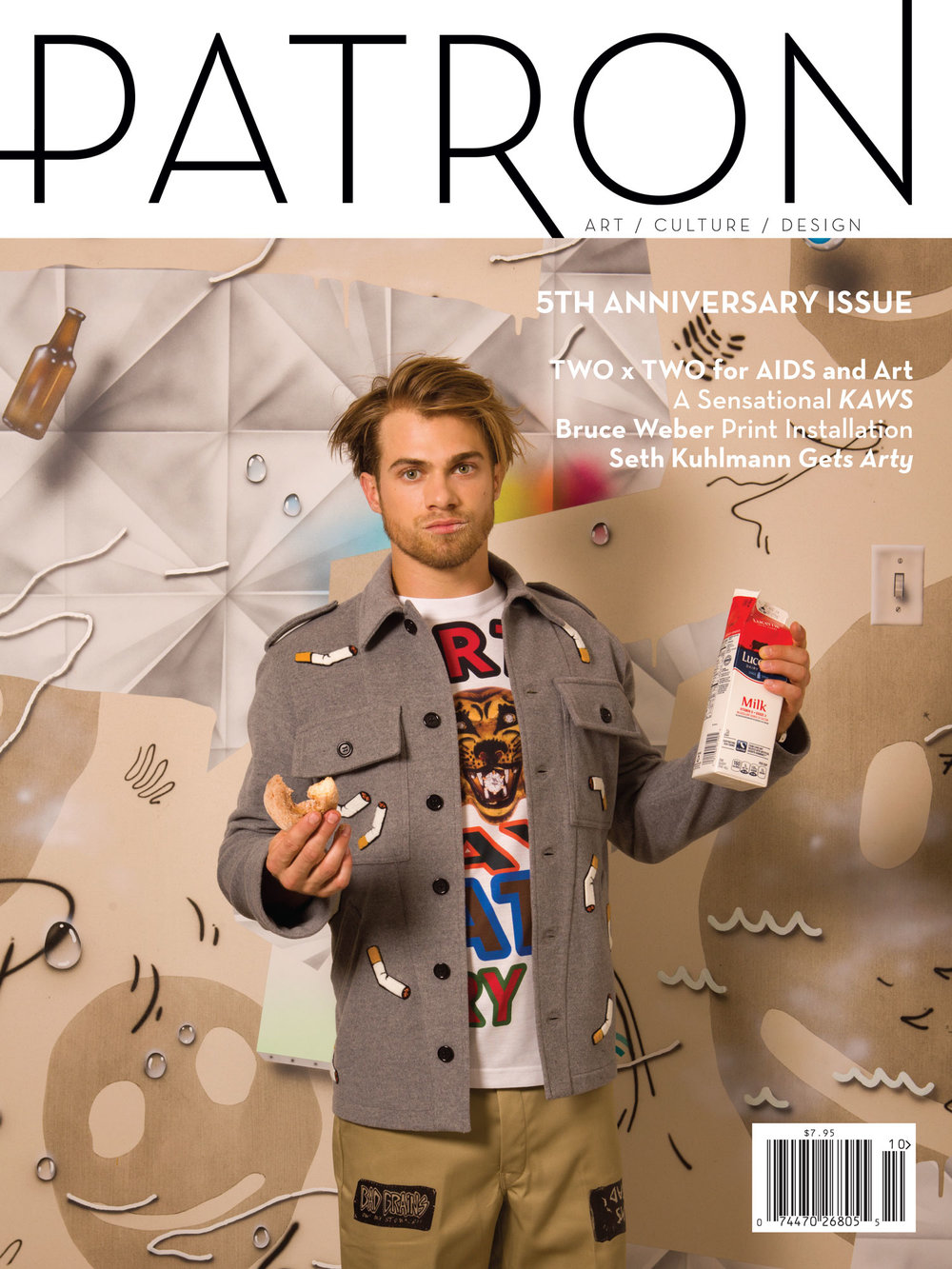 PATRON Magazine - Vol. 6. CLICK HERE FOR THE FULL FEATURE