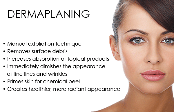 Infographic: What are the benefits of dermaplaning?