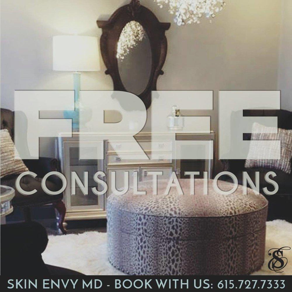 FREE Consultations - Skin Care by Skin Envy Nashville.jpg