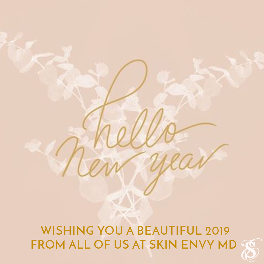 Hello new year - wishing you a beautiful 2019 from all of us at skin envy md - Botox Dysport Juvederm Restylane by Skin Envy MD Nashville.png