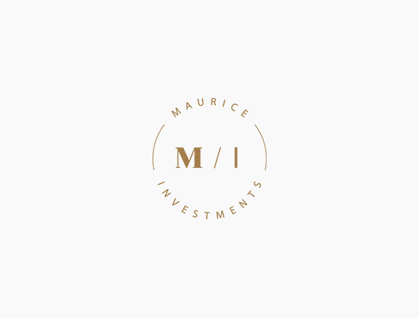 Maurice Investments - Logo Design | Branding | Art Direction | Commercial Materials | Website Design & Build