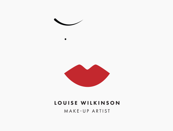 Louise Wilkinson: Make-up Artist - Logo Design | Commercial Materials