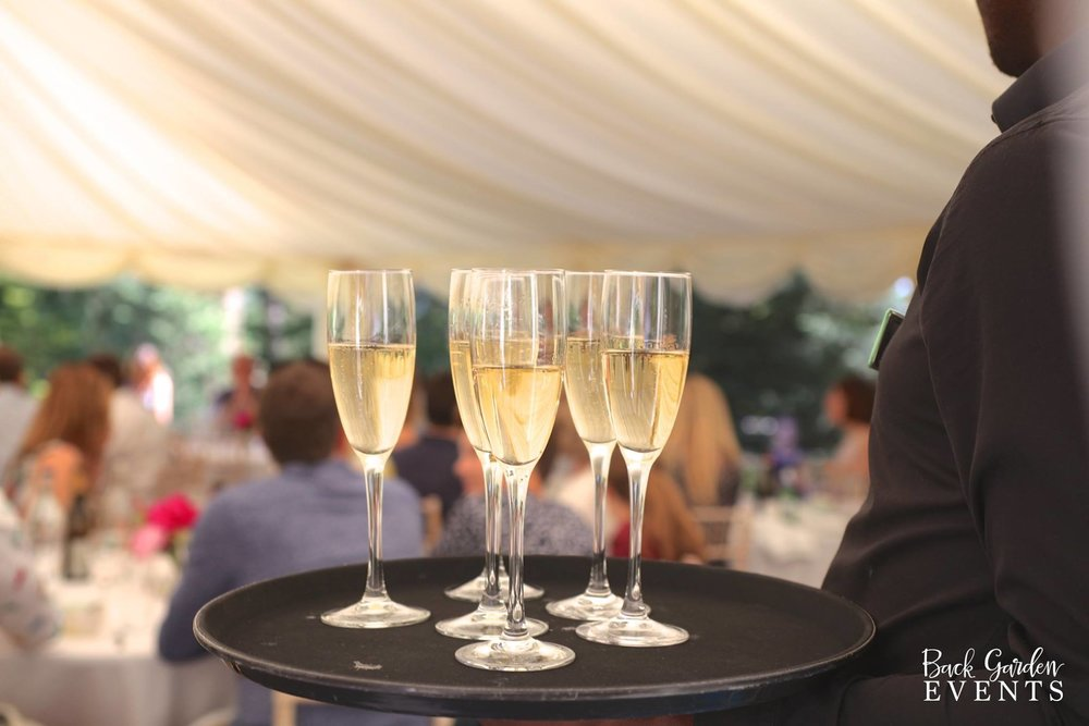 Champagne Lunch Back Garden Events